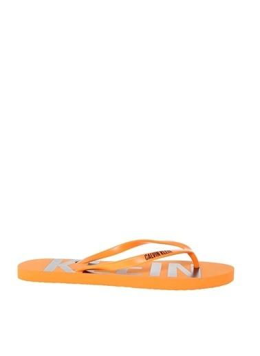 Calvin Klein Plaj Terliği Oranj